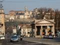 Bergamo - pohled na staré město